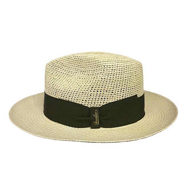 Borsalino Cappello Uomo 141106 Panama Semi-Crochet 100% Paglia Made in  Italy  Amazon.it  Abbigliamento 80e42fc9179c