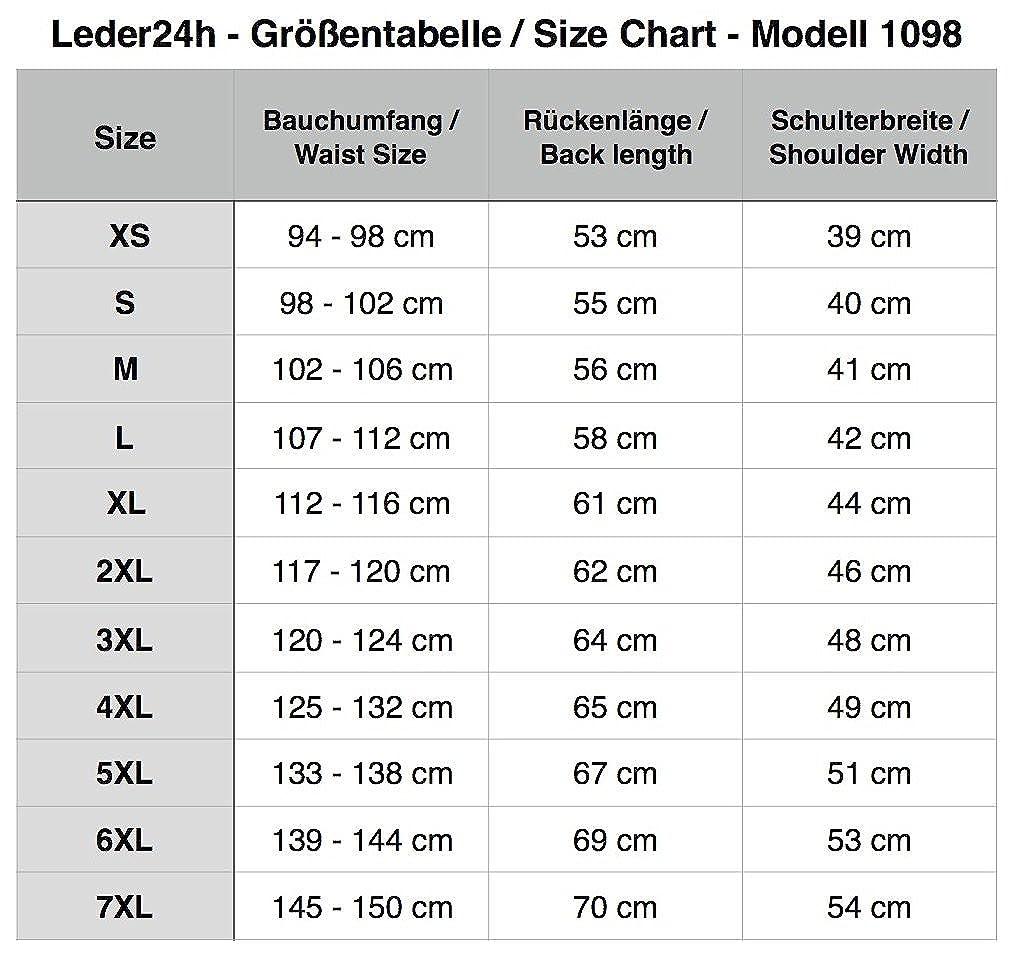 LEDER24H Outdoor Weste aus Softshell 1098 1098 1098 B076JJLSMB Jacken Hohe Qualität und geringer Aufwand eb918a