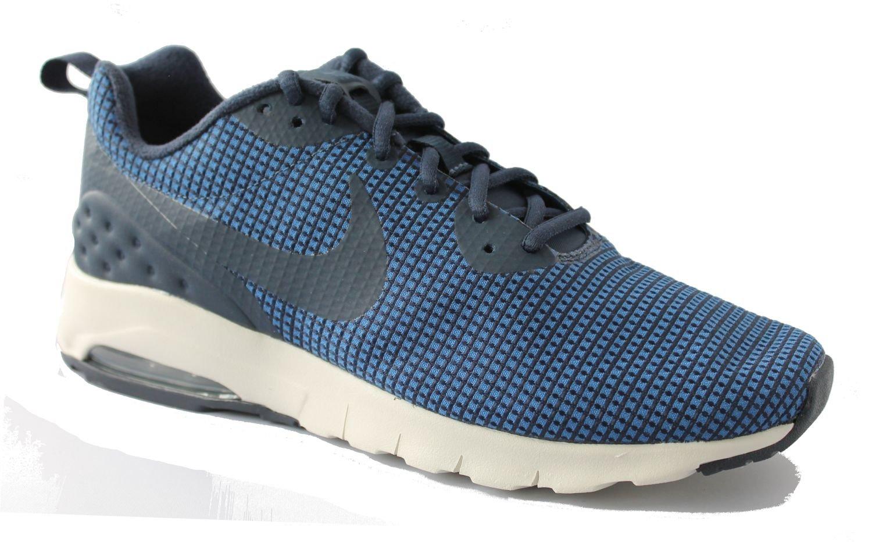 Nike Herren Air Max Motion Liteweight SE Sneaker  42 EU|Mehrfarbig (Obsidian/Obsidian-gym Blue-lig)