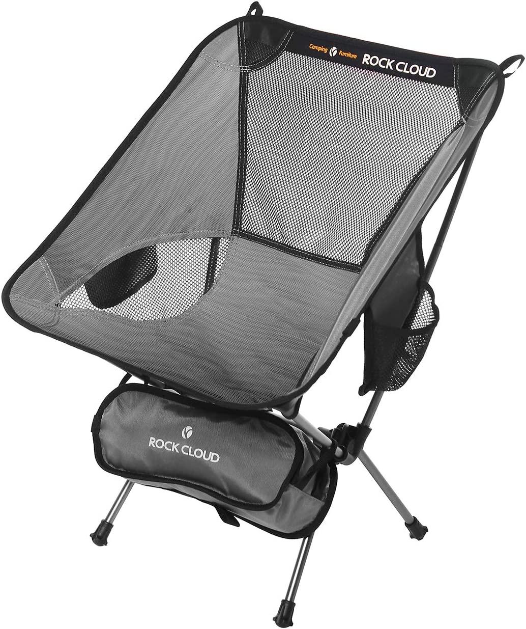 Rock Cloud Ultralight Camping Chair Portable Folding Chairs Outdoor for Camp Hiking Backpacking Lawn Beach Sports