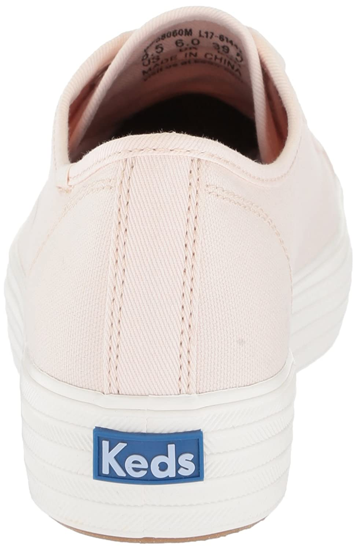 Keds Women's Triple Kick Colorblock Sneaker B072WCC7GZ 5.5 B(M) US|Light Pink
