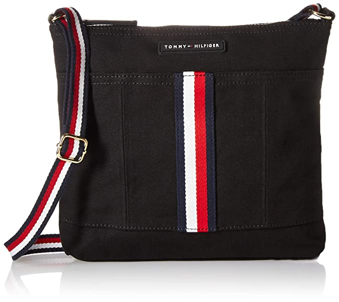 a8f302e4733a1 Tommy Hilfiger Crossbody for Women TH Flag Canvas