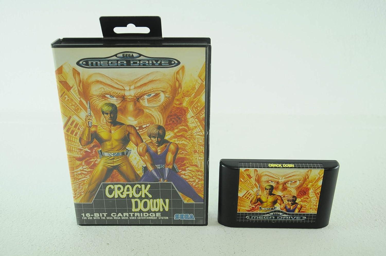 Crack Down (Mega Drive) [Importación Inglesa]: Amazon.es: Videojuegos