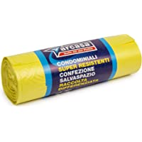 Arcasa DEP758 - Bolsas amarillas, 50 l, 15