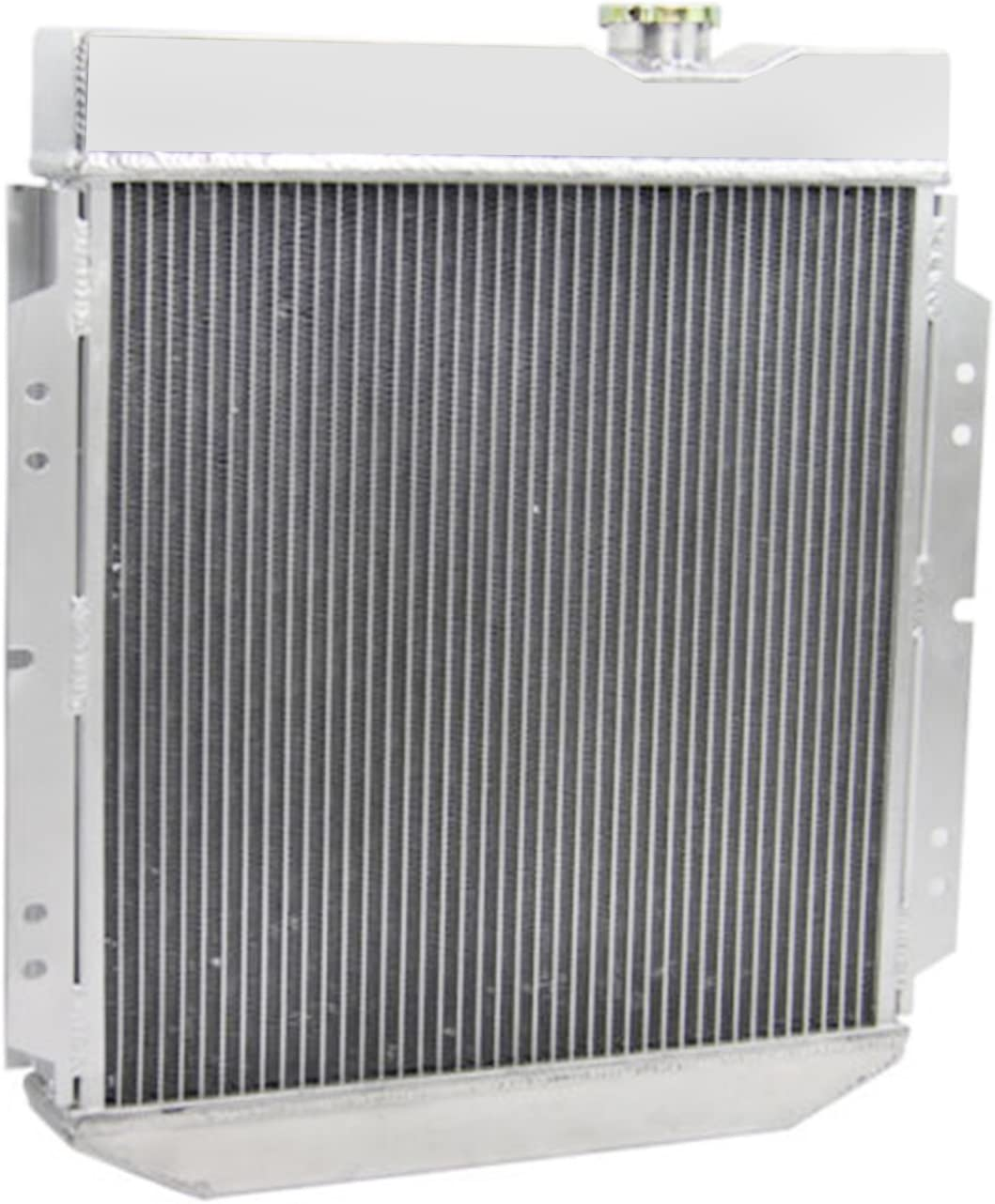 4 Row Core All Aluminum Radiator for 1963-1966 64 65 Ford Mustang//Falcon OzCoolingParts 63-66 Ford /& Mercury Radiator V8 260 289 AT//MT Mercury Comet