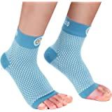 Cambivo Plantar Fasciitis Socks(2 Pairs), Ankle Sleeve with Arch Support for Men and Women, Fit for Plantar Fasciitis…