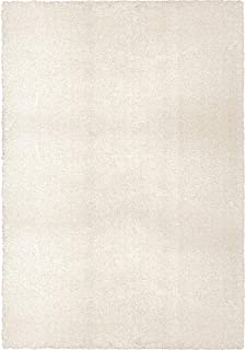 """product image for Orian Cotton Tail Solid White 6'7"""" X9'8 Area Rugs 8302"""