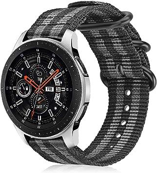 Fintie Correa Compatible con Samsung Galaxy Watch 3 (45mm)/Galaxy Watch 46mm/Gear S3 Classic/Gear S3 Frontier: Amazon.es: Electrónica