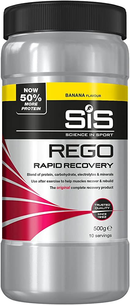 SiS REGO Rapid Recovery 500g Banana
