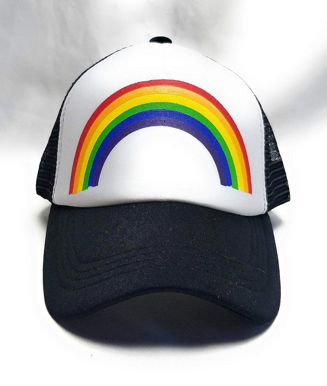 7c472c1e18b67 Gay Pride Neon Rainbow Icon Snapback Hat