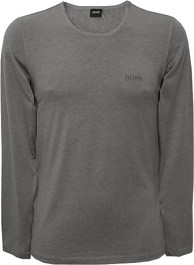 BOSS Hugo Boss LS-Shirt RN Thermal, Camisa Manga Larga Hombre ...