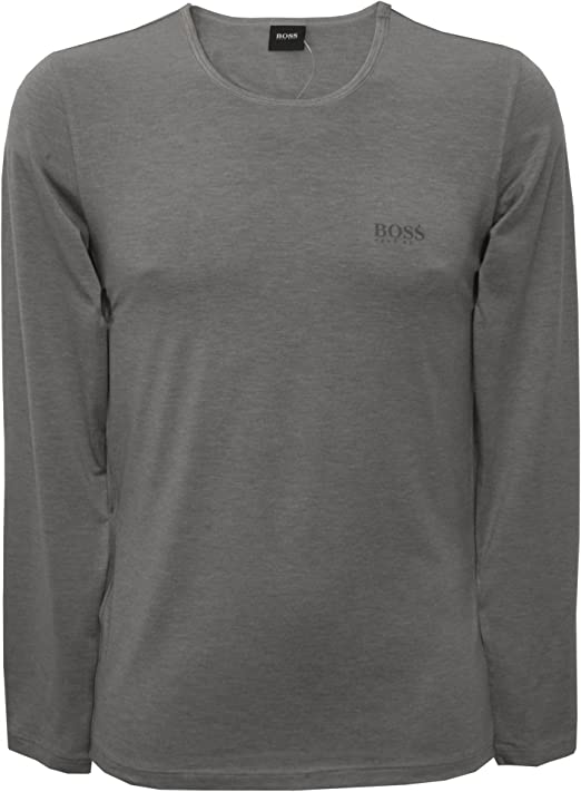 BOSS Hugo Boss LS-Shirt RN Thermal, Camisa Manga Larga Hombre, Gris (Dark Grey), XX-Large: Amazon.es: Ropa y accesorios