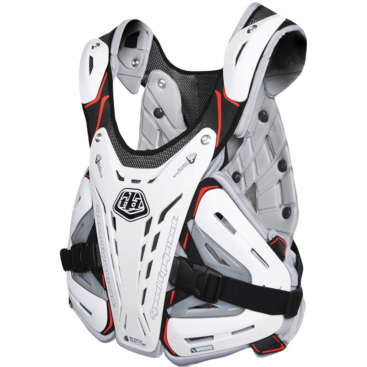 Troy Lee Designs 5900 Chest Protector-White-L