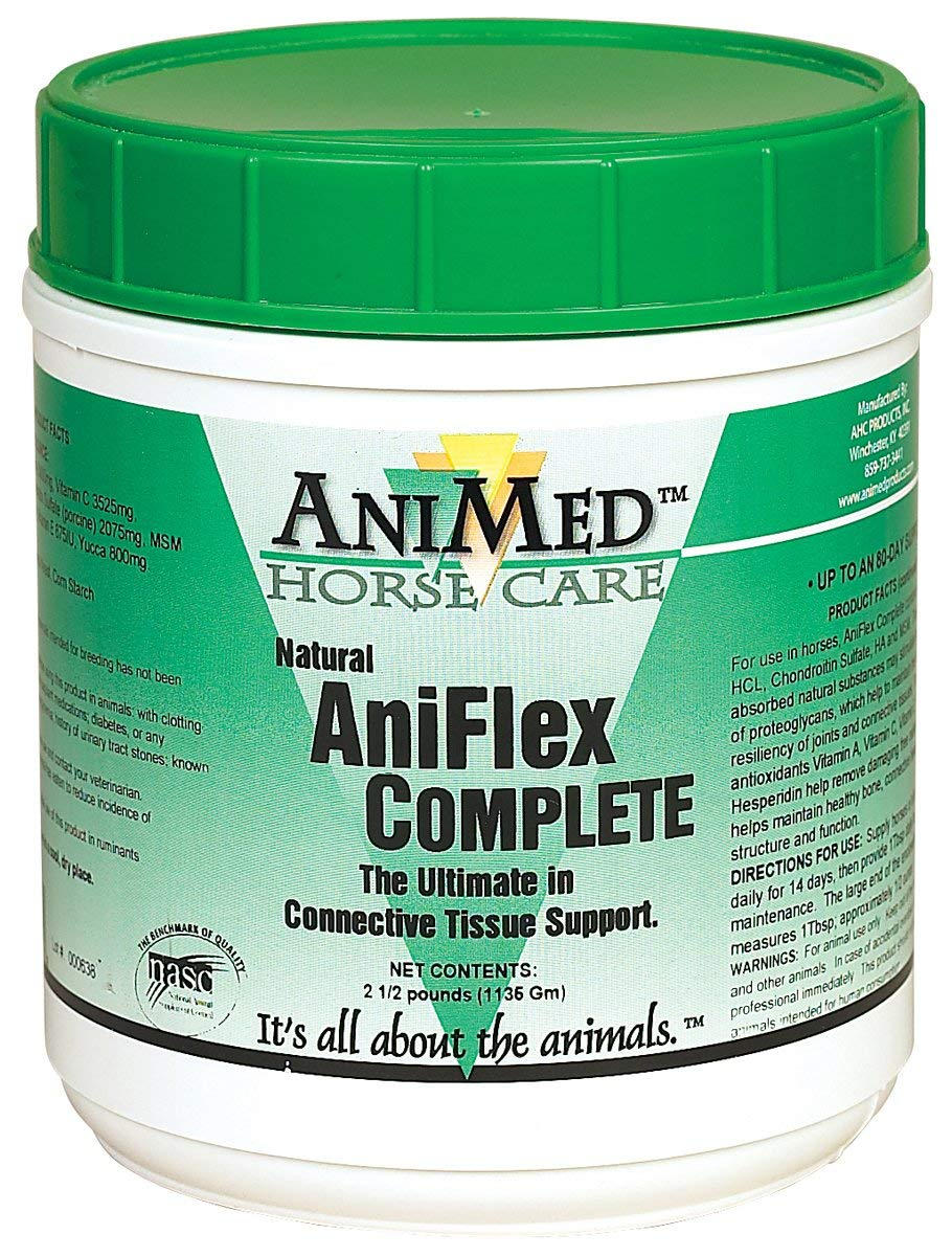 AniMed Aniflex Complete Joint Health Supplement for Horses 20-Pound by AniMed