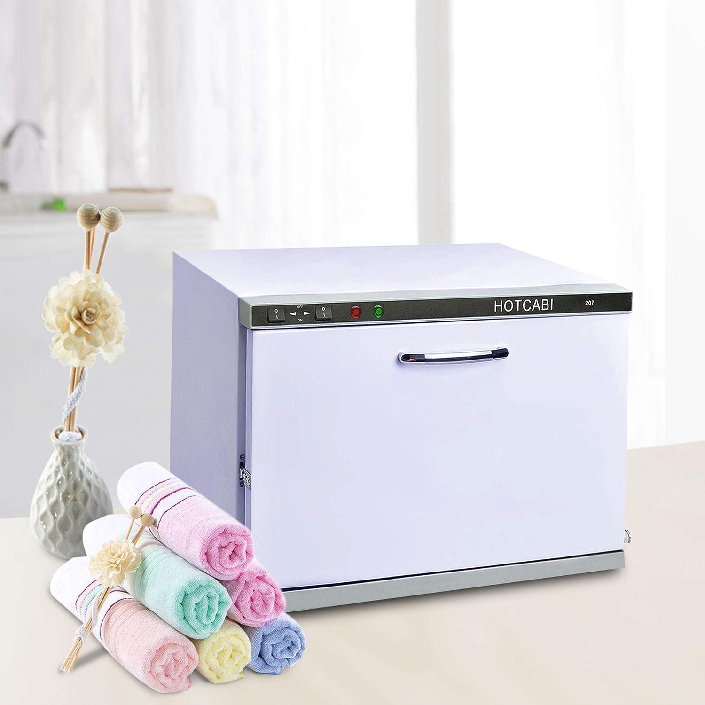 AW 2in1 23L Hot Towel Warmer Heat Cabinet Machine Nail Facial Skin Spa Massage Hair Beauty Salon Barbershop Equipment: Beauty