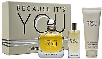 e2b792fb1cdb0 Giorgio Armani Because IT S YOU Geschenkset 100ml EDP Eau de Parfum Spray +  15ml EDP Eau