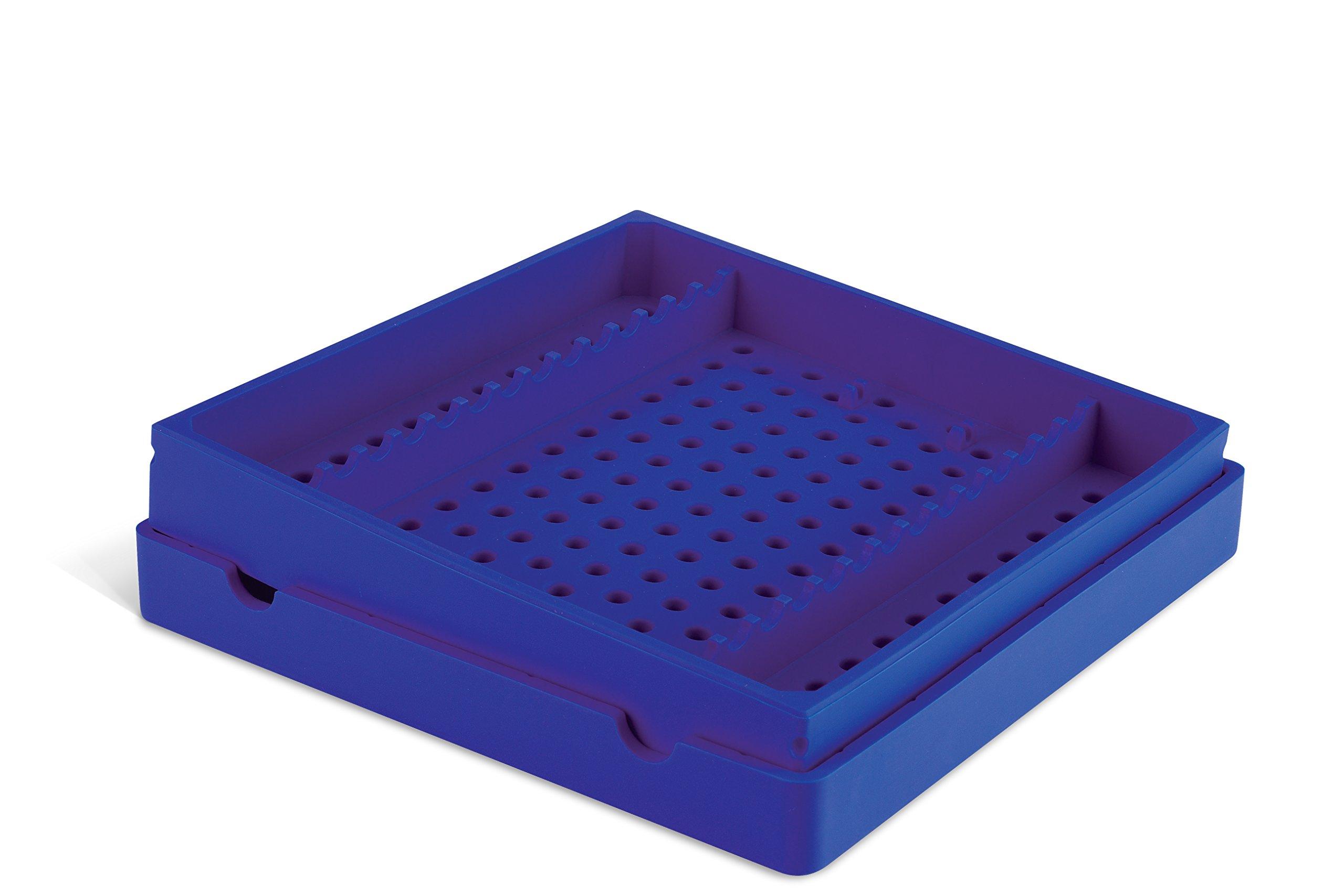 Practicon 7039772 PUR Cool Cassette 14 Instrument Container, Purple