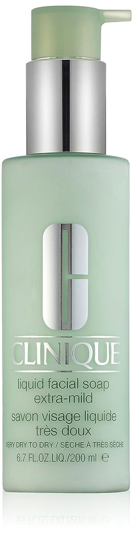 Liquid Facial Soap Extra Mild - Very Dry to Dry by Clinique for Unisex - 6.7 oz Facial Soap KI00630 CLI00401