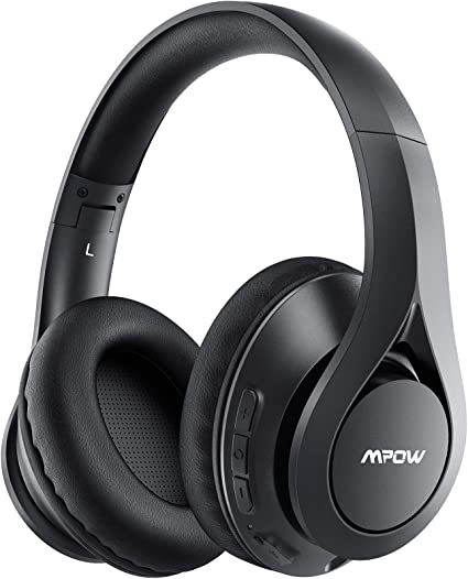 Cuffie Bluetooth ear mpow con 60 ore di riproduzione, bluetooth 5.0 wireless BH393A