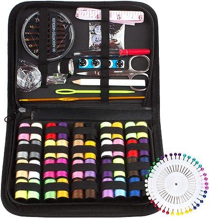 Kit de Costura con 128 piezas Accesorios de Costura y Bolsa de ...