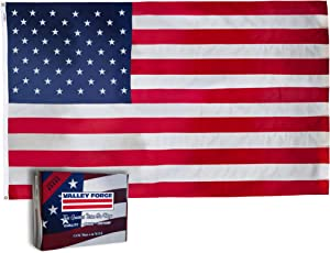 Valley Forge 60311000II American Flag, 6'x10', Multi color