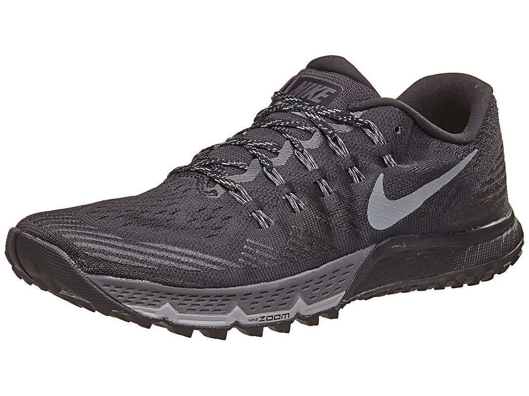 Nike Air Zoom Terra Kiger 3, Zapatillas de Running para Hombre 41 EU|Negro (Black / Dark Grey-cool Grey-wolf Grey)