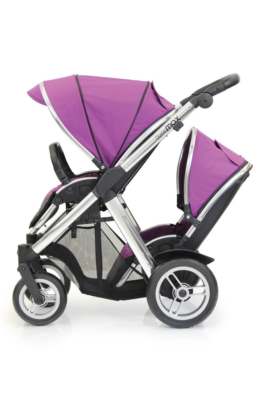 BabyStyle Oyster MAX Inline Double Baby Pushchair