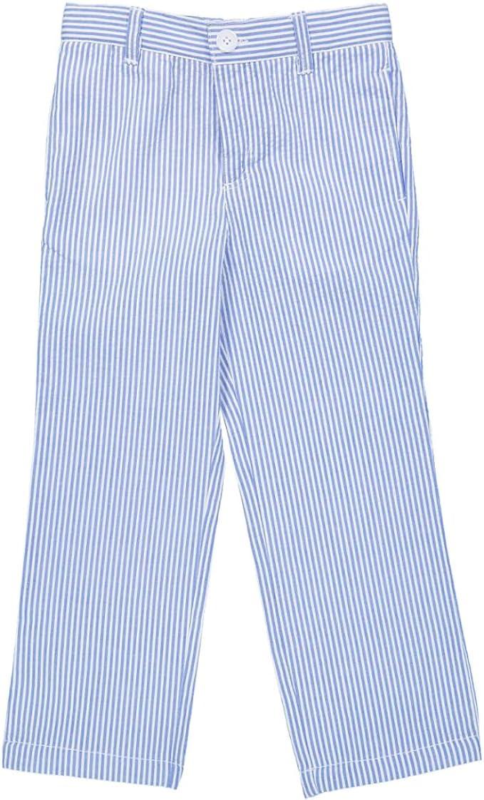 Amazon Com E Land Kids Boys Seersucker Pant Clothing