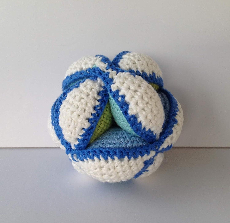 Montessori kleiner Amigurumi Ball aus Baumwolle
