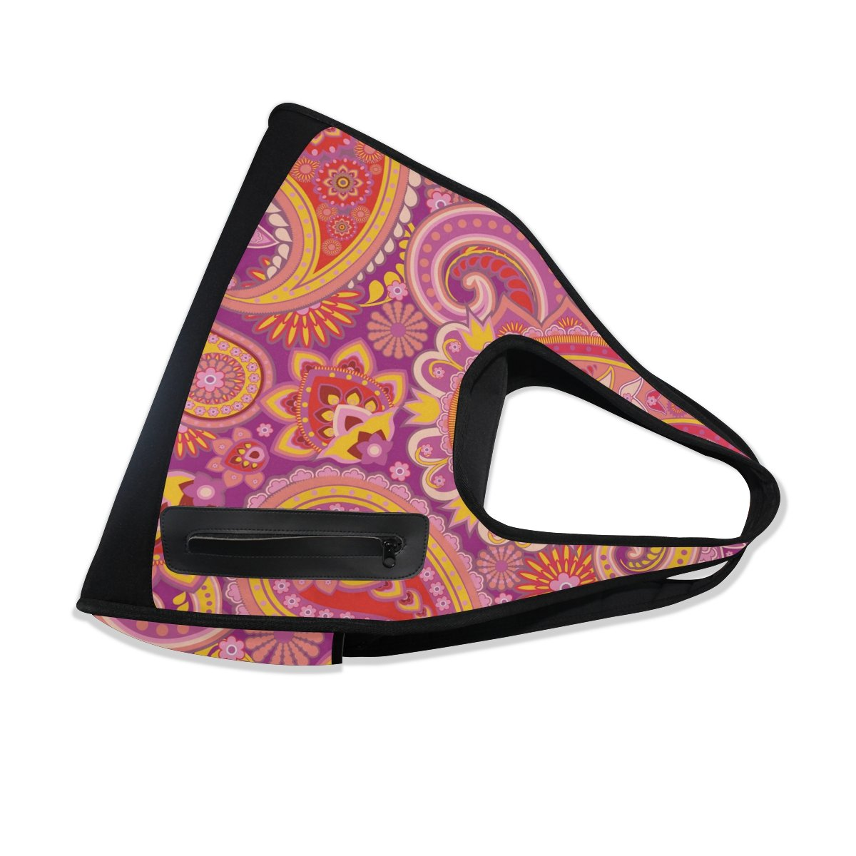 AHOMY Sports Gym Bag Paisley Duffel Bag Travel Shoulder Bag