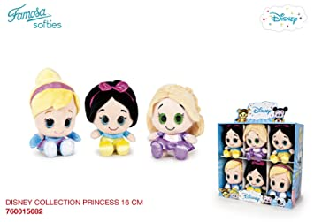 Disney Collection - Peluche 15 cm Princesas (Famosa 760015682)