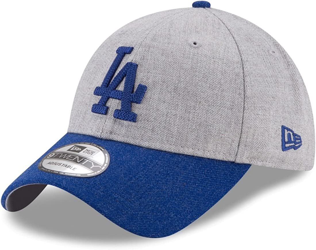 outlet boutique latest design discount sale Amazon.com : New Era Los Angeles Dodgers 9Forty MLB Heather Crisp ...