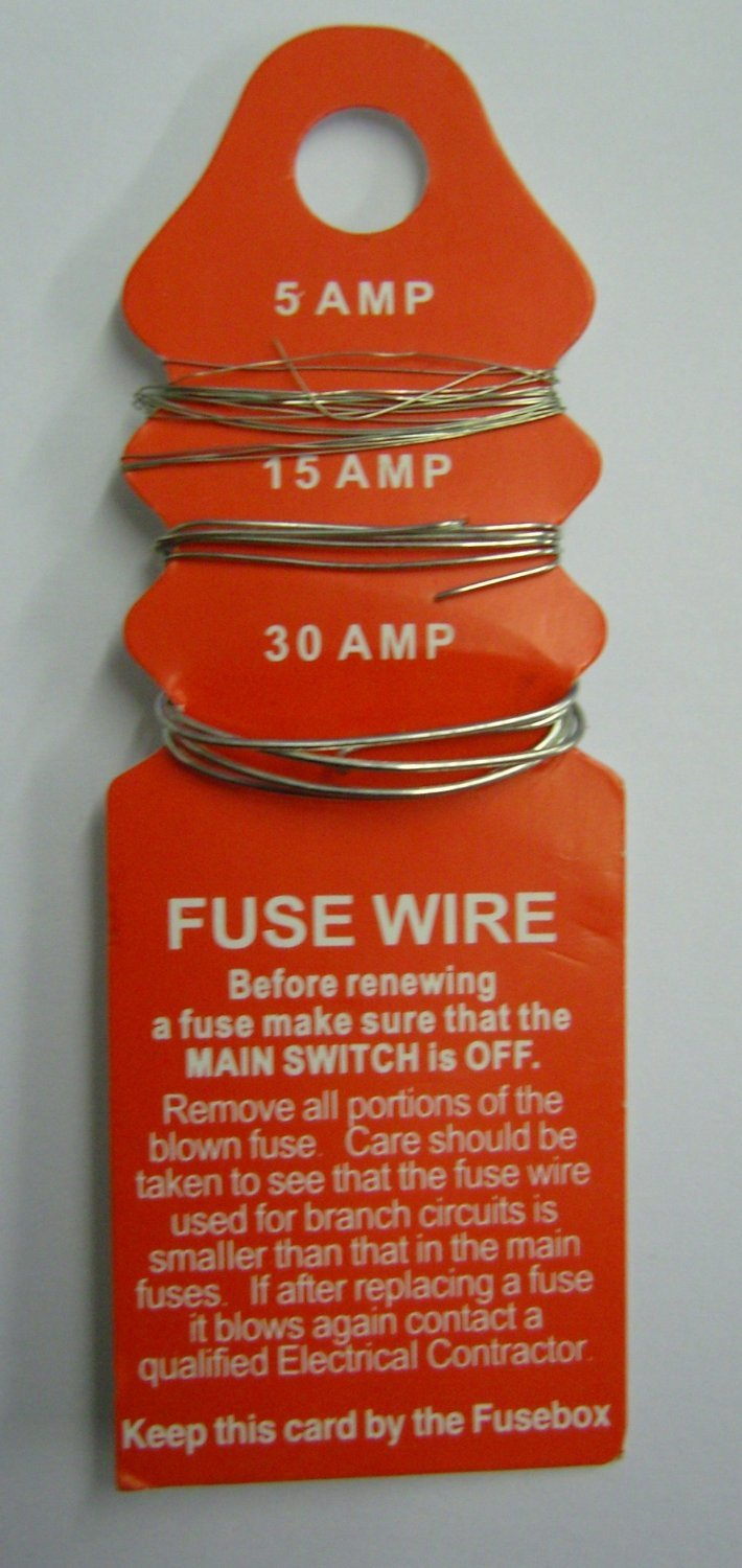 71CxPl kZML._SL1500_ consumer fuse wire card 5, 15, 30 amp free delivery amazon co uk 30 Amp Automotive Fuse at sewacar.co