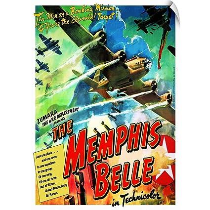 Memphis Belle Crew Poster 24in x 36in