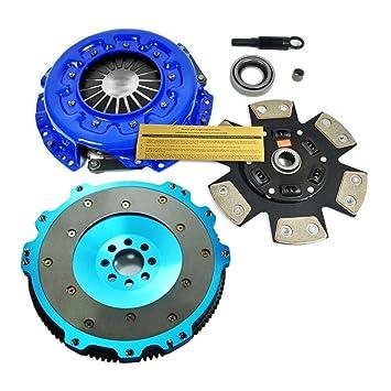 EF etapa 3 Kit de embrague y volante de aluminio para JDM Nissan Silvia S13 S14 SR20DET: Amazon.es: Coche y moto