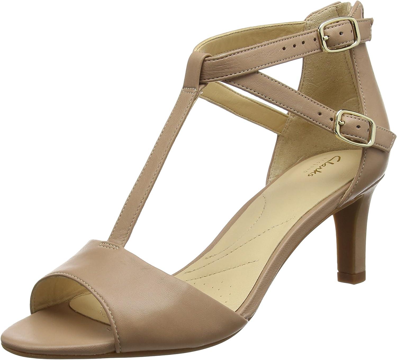Absorbente Canciones infantiles radio  Clarks Women's Laureti Pearl Ankle Strap Sandals: Amazon.co.uk: Shoes & Bags