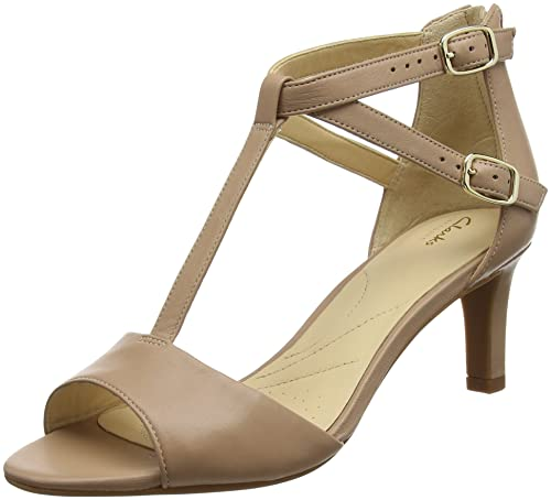 a299c484c43e Clarks Women s Laureti Pearl Ankle Strap Sandals  Amazon.co.uk ...