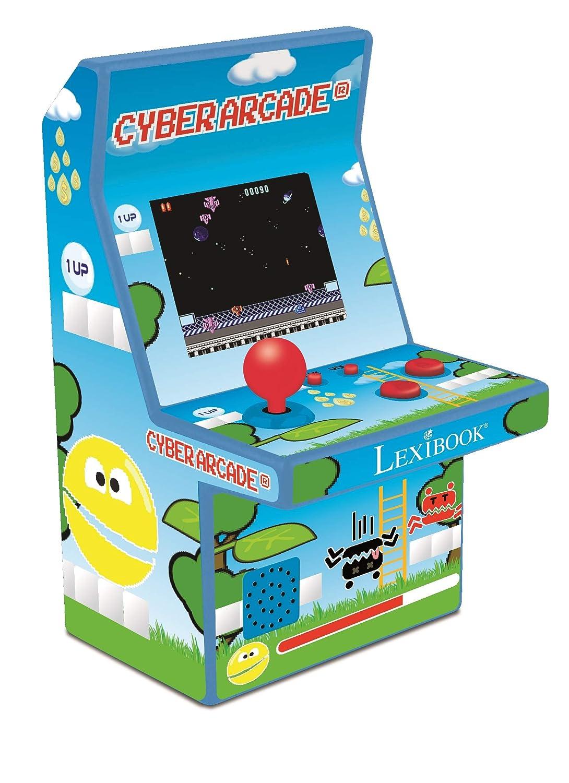 Lexibook Console de jeux portable retro Cyber Arcade 300 jeux, borne d'arcade miniature, design retro gaming, 14.9 x 9 x 8.6 cm – JL2950 borne d'arcade miniature 14.9 x 9 x 8.6 cm - JL2950