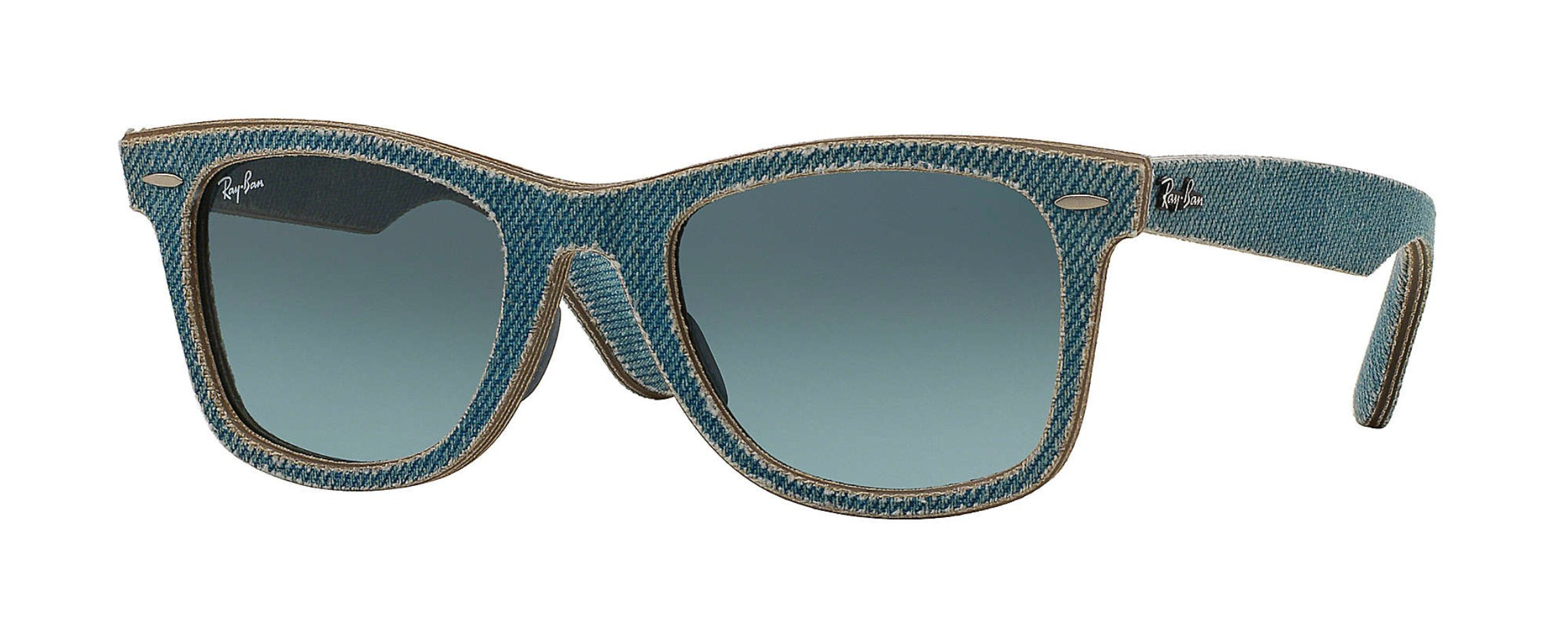 Ray-Ban Unisex RB2140F 11644M Original Wayfarer Sunglasses Denim Blue Gradient 52mm by Ray-Ban