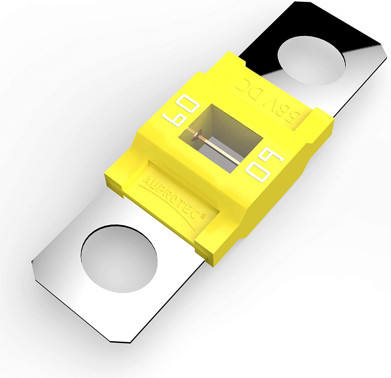 Auprotec/® MIDI fusibles pour courant de forte intensit/é /à visser 40A 100A Ampere bleu 1 pi/èce 100A choix