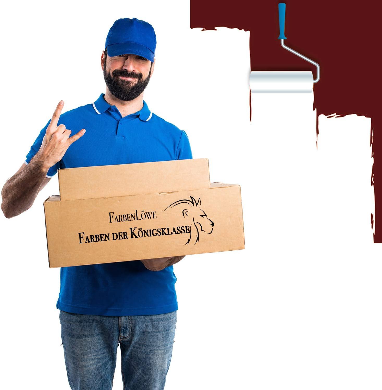 tama/ño 1 L Lausitzer Farbwerke Barniz tradicional para madera y metal Barco Color Barco barniz Yachtfarbe incoloro rojo verde gris antracita gris azul negro blanco marr/ón color Farblos