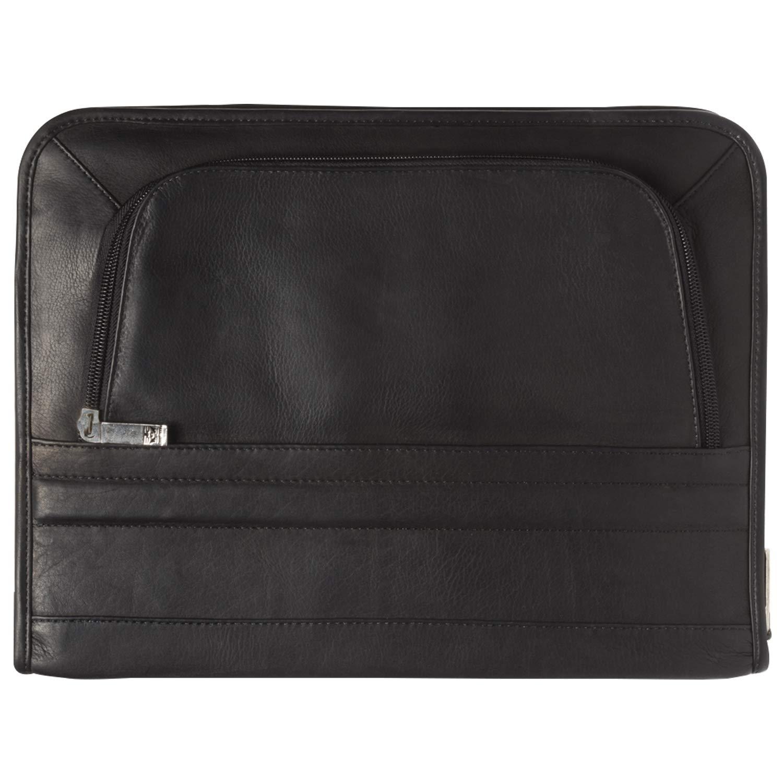 Business Portfolio 8.5 x 11 inch Zippered Organizer Writing Pad Holder Case