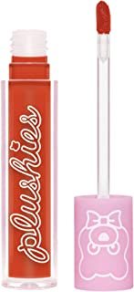 product image for Lime Crime Plushies Soft Matte Lipstick, Sorbet - Fire Red - Blackberry Candy Scent - Long Lasting, Nude Lips - Soft Focus, Non-Opaque Lip Veil - 0.11 fl oz
