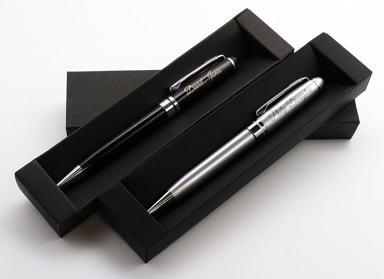 Personalizado Premium Metal bolígrafo + caja de regalo   Custom a medida láser grabado CustomDesign.Shop