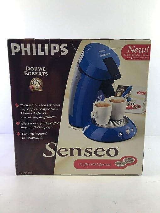 Amazon.com: Senseo HD7810 Gourmet único Serve Cafetera ...
