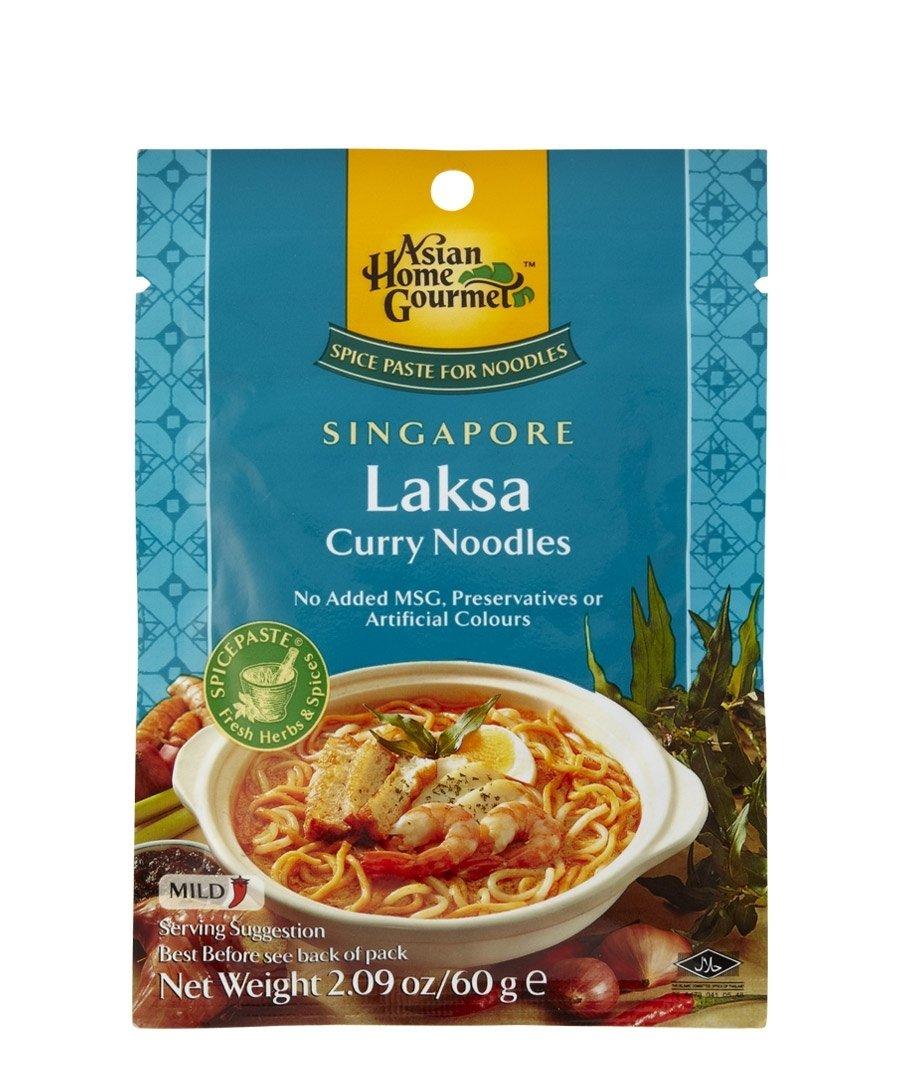 Amazon.com : ASIAN HOME GOURMET Spice Paste for Singaporean Laksa ...