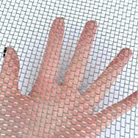"""Stainless Steel 304 Mesh #8 .035 Wire Cloth Screen 10/""""x10/"""""""