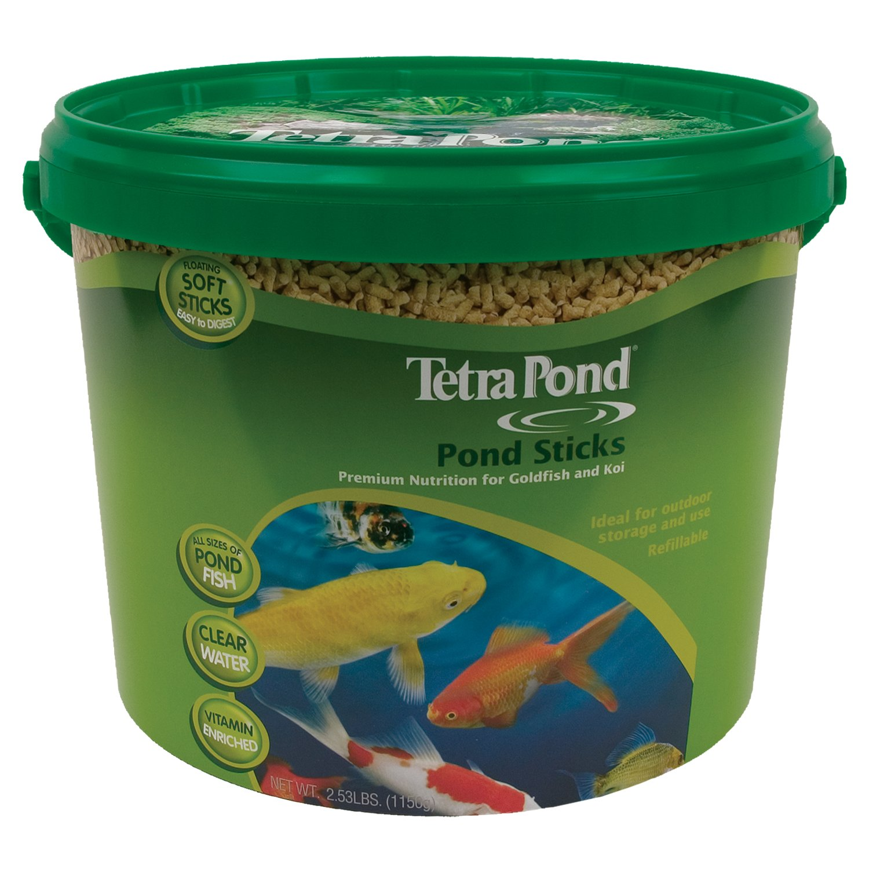 TetraPond Pond Sticks, Healthy Nutrition for Goldfish and Koi by Tetra Pond