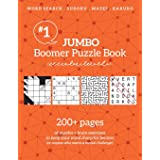 Jumbo Boomer Puzzle Book: 200+ pages of puzzles + brain exercises (Boomer Puzzles)