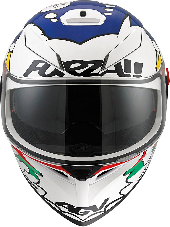 Agv K3 Sv Adult Comic Street Motorcycle Helmet Multi K3sv Simoncelli Medium Large Automotive